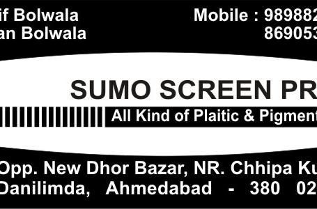 Sumo Screen Print
